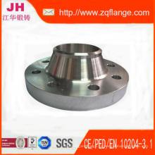 ANSI B16.5 150lb soldadura carbono tubos de acero brida de