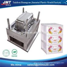 produits ménagers en plastique injection batterie boîte moule moule en acier en plastique prix usine
