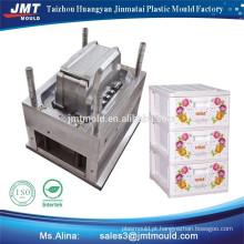 produtos de uso doméstico injeção plástica da bateria caixa molde molde de aço plástico o preço de fábrica