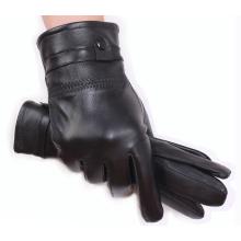 Sheepskin Windproof Warm Cycling Outdoor Sport Gloves