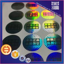 Self adhesive Laser Hologram Security Label