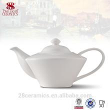 Juego de té de hueso real, tetera de porcelana, recipiente de cerámica