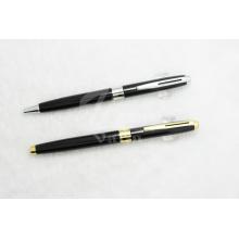 Juego de bolígrafo y bolígrafo de metal de alto rango
