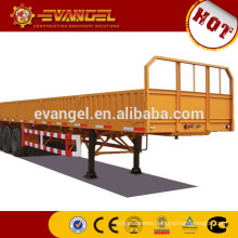 trailer steering axle hydraulic dump trailer