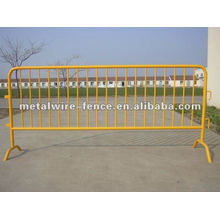 galvanized then pvc coated swimming pool temporary fence