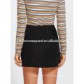 Grommet Lace Up Detail Skirt Manufacture Wholesale Fashion Women Apparel (TA3069S)