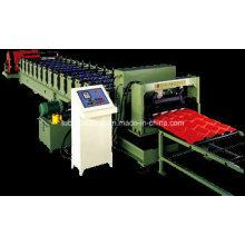 Máquina formadora de azulejos de acero