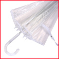 Transparent Apollo Umbrella Clear Bubble PVC Umbrella With Transparent Handle