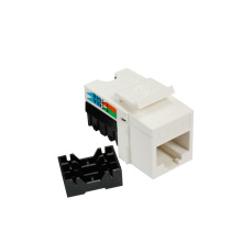 90 degree UTP cat6 RJ45 Tool-less keystone jack