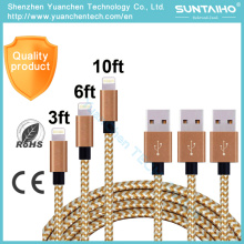 Wholesale Price Sync Data Fast Charging USB Cable for iPhone