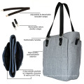 Simple Convenient Polyerster Long Strap Tote Diaper Bags