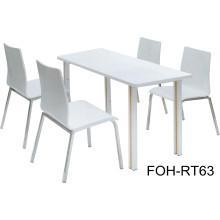 Modernes Design Fast Food Tisch und Stuhl Möbel