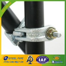 48.3 * 48.3 BS1139 verzinkter Stahl-Schwenkkuppler