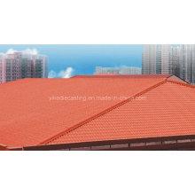 Gazebo de techo de resina resistente a la intemperie Siba