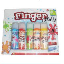 pintura de dedo de aquarela para crianças