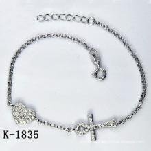 Fashion Silver Micro Pave CZ Setting Jewellery (K-1835. JPG)