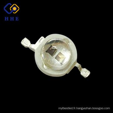 meilleurs produits de haute qualité double puces 5w 420nm uv haute puissance menée pour cultiver des lumières