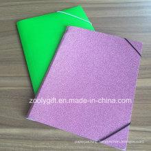 Glitter Paper File Folder A4 Documents Pocket File