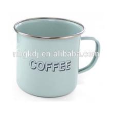Enamel mug with one ears