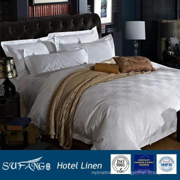 Ensembles de literie d'hôtel de conception de contrôle de 100% coton et ensemble de literie d'hôtel de jacquard