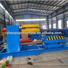 best selling decoiler in steel sheet cutting machine for roller production line