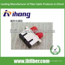 Adaptador de fibra óptica FC-SC duplex