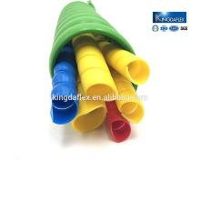 Garde de Sprial colorée de protection de tuyau de pp pour le tuyau en caoutchouc hydraulique
