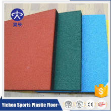 outdoor rubber sports floor mat