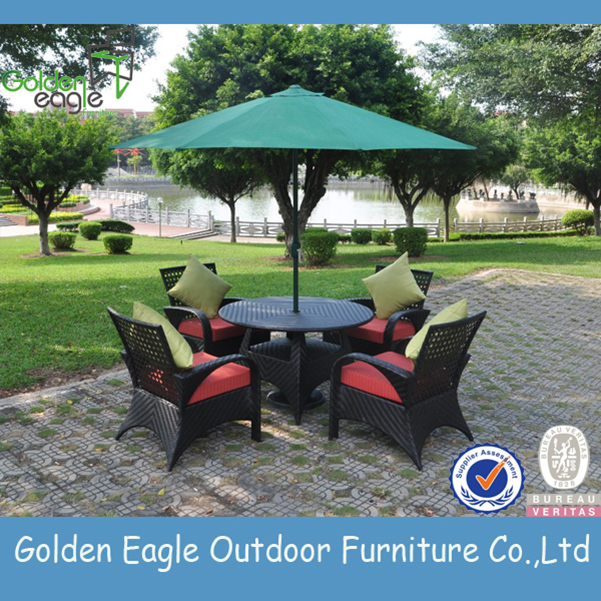 Wicker Dining Set Furniture