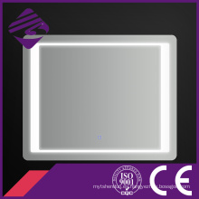 Jnh157 Hot Low Rectángulo LED baño espejo Chamfer Edge