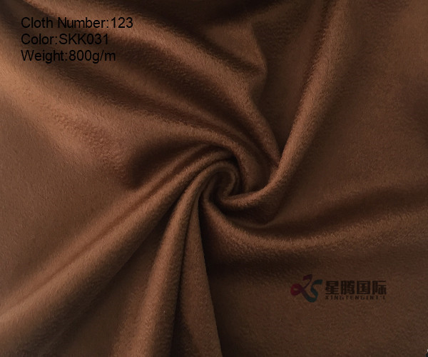 2018 Winter Water Ripple Coat Wool Fabric
