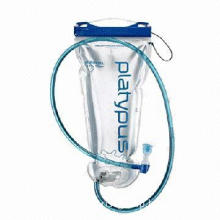 Hydration bladder bicycle mouth drinking, foldable design