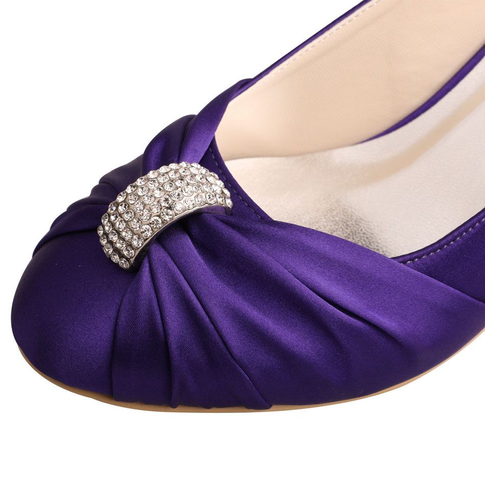Wedding Heels Purple