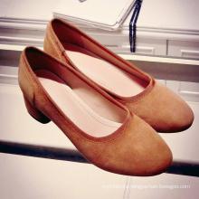 women shoes flat sheep leather
