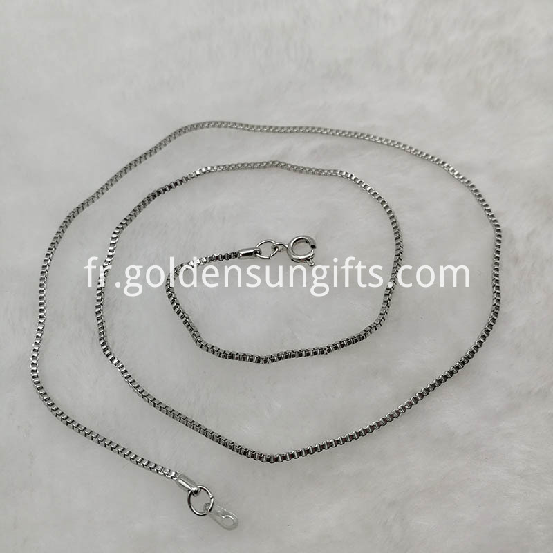 Wholesale Lattice Chain Necklace