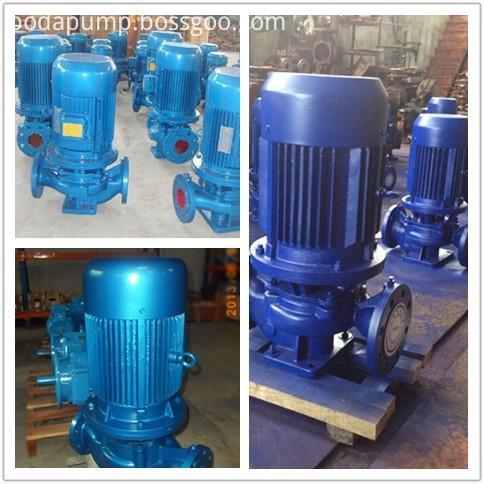 ISG series vertical pipeline centrifugal pump vertical centrifugal pump 2