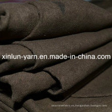 Tela de gamuza de poliéster para la ropa / bolso / tapicería / guantes