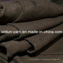 Tissu de daim de polyester pour le vêtement / sac / tapisserie d'ameublement / gants