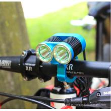 2 * CREE T6 1500lumens Reflector bicicleta lâmpada de alta potência bicicleta luz