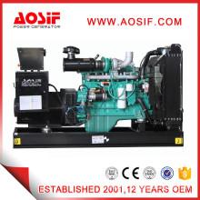 Diesel generator with air-cooled diesel engine