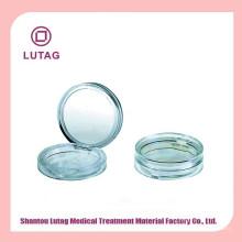 Shantou plástico compacto polvo compacto vacía caso