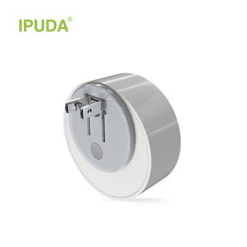 IPUDA A3 Mini LED 0.5 W accueil d'urgence Nuit Lumière Contrôle Automatique Capteur Bébé Chambre Lampe