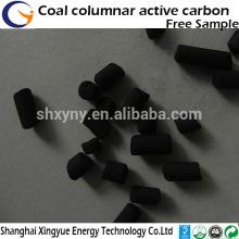 Fábrica de todos os tipos de carvão ativado comercial a granel Carvão com base em coluna de carvão ativado