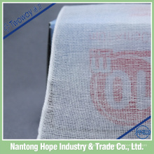 o rolo absorvente tecido da gaze do algodão da borda esteriliza, atadura tecida da gaze da borda