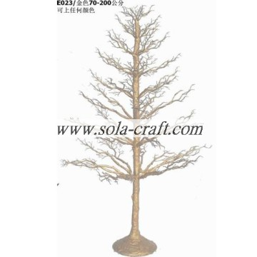High Quality 150CM Plastic Outdoor Wedding Ceremony Crystal Tree For Table Centerpiece