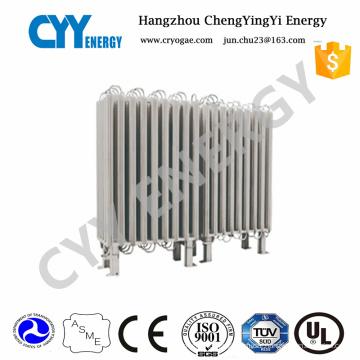 Lox Lin Lar High Pressure Ambient Air Vaporizer Gas Vaporizer