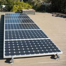 Montage solaire ondulé en aluminium de panneau solaire de kit de forme du crochet L de toit L