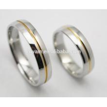 Großhandel Paar 316L Edelstahl Hochzeit Ring
