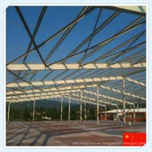 2016 Q345 Nuevo marco de acero prefabricado para el taller