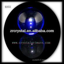 boule de cristal bleue k9